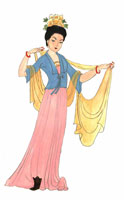 tang dynasty clothes