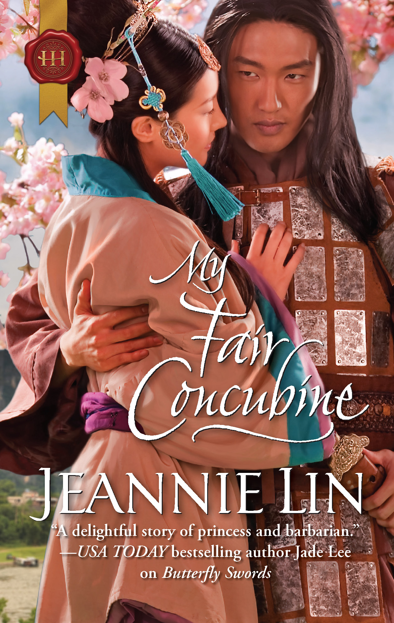 Post thumbnail of Review: My Fair Concubine by Jeannie Lin