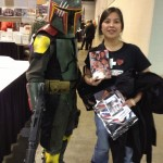 Boba Fett doesn't say much, but he's a supporter!