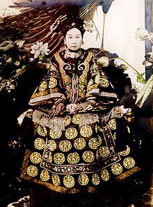 Dowager Empress Cixi (Image: public domain)